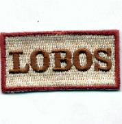 Flight Suit Sleeve - 175FS Lobos (Tan)