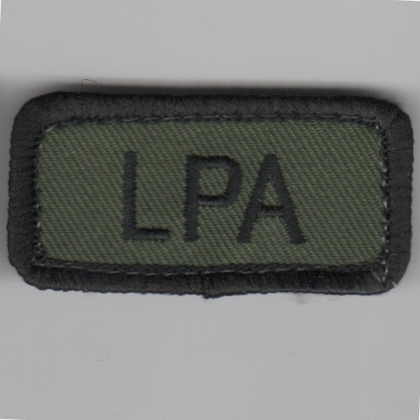 Flight Suit Sleeve - LPA (Subd/No Velcro)