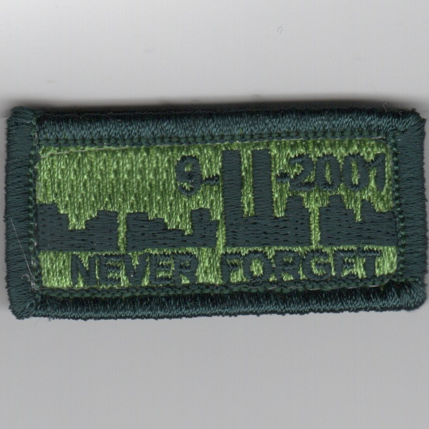 Flight Suit Sleeve - NEVER FORGET (Subd)