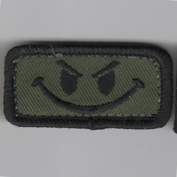 Flight Suit Sleeve - Evil Smiley (Subd)