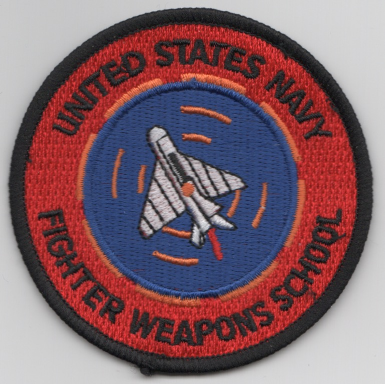 USN FWS 'Delta Wing' (Red Exhaust/Velcro)