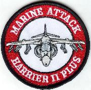 26th MEU/Harrier 2 Patch (Red)