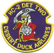 HC-2 Det 2 Patch (Dk Blue) .