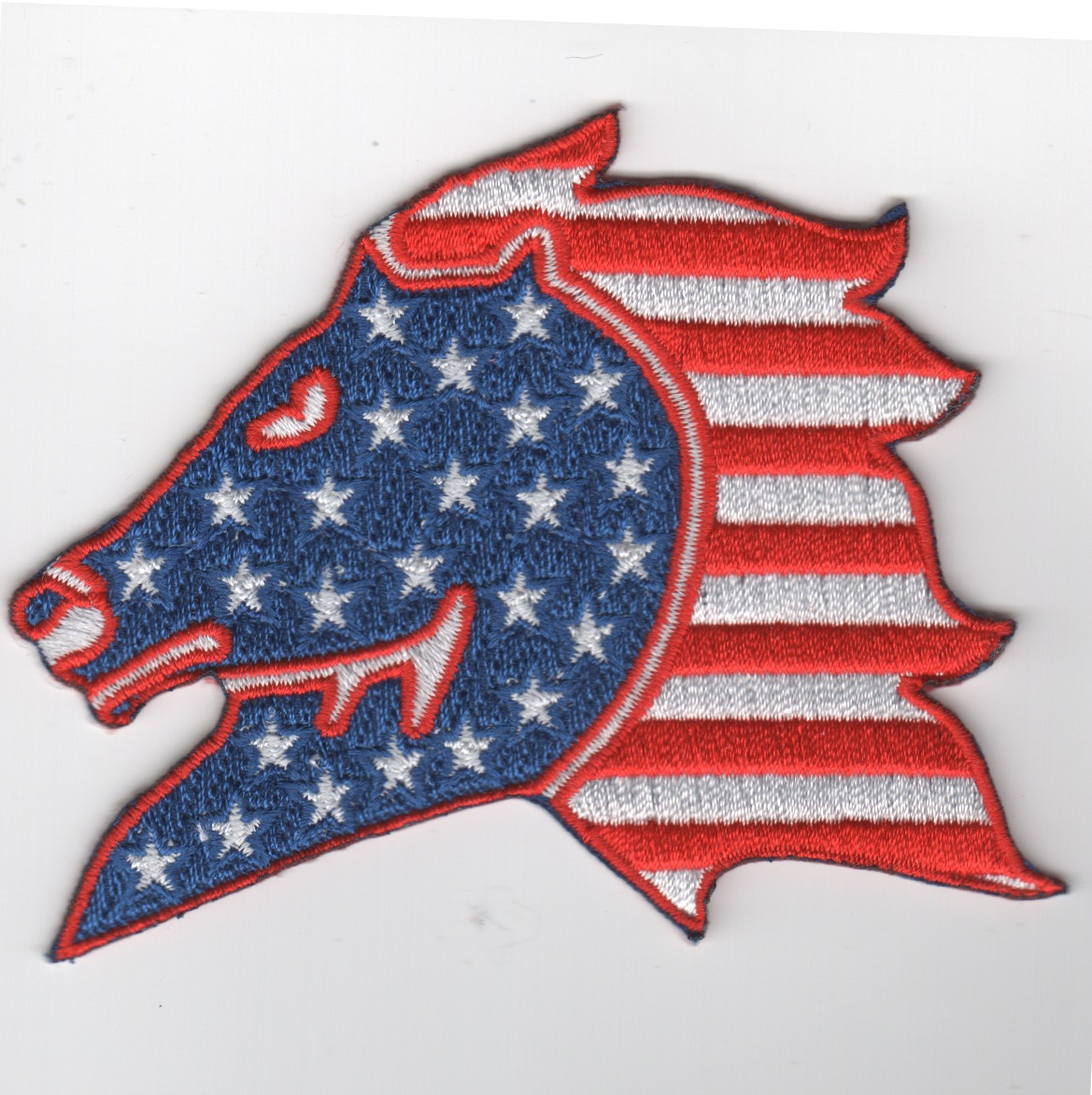 HM-14 Horsehead Patch (Red/White/Blue)