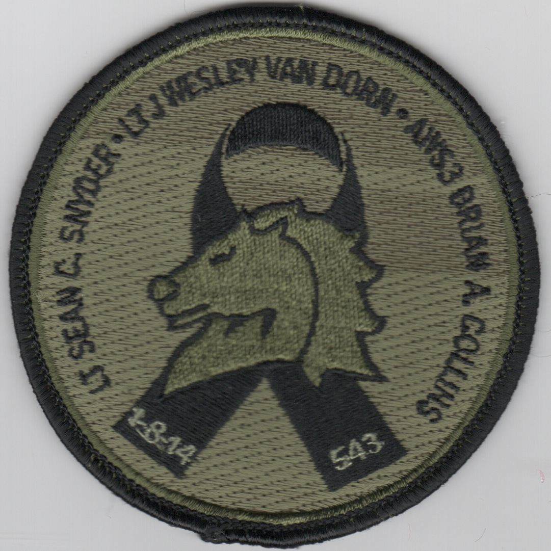 HM-14 'Memorial' Patch (Subd)