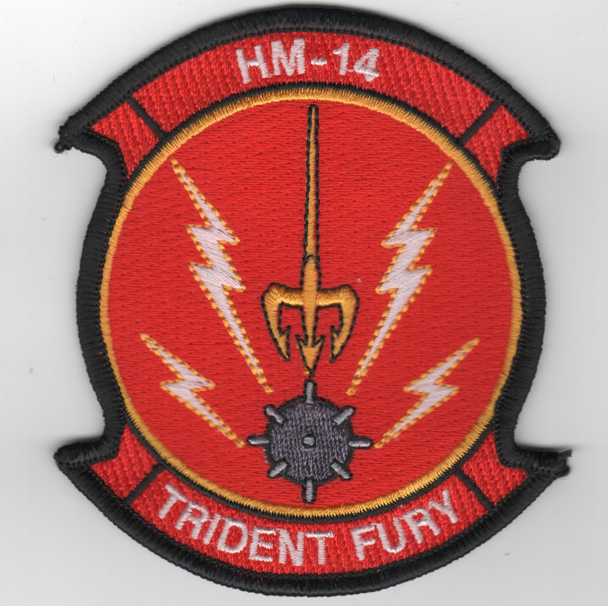 HM-14 'Trident Fury' Patch (Red)