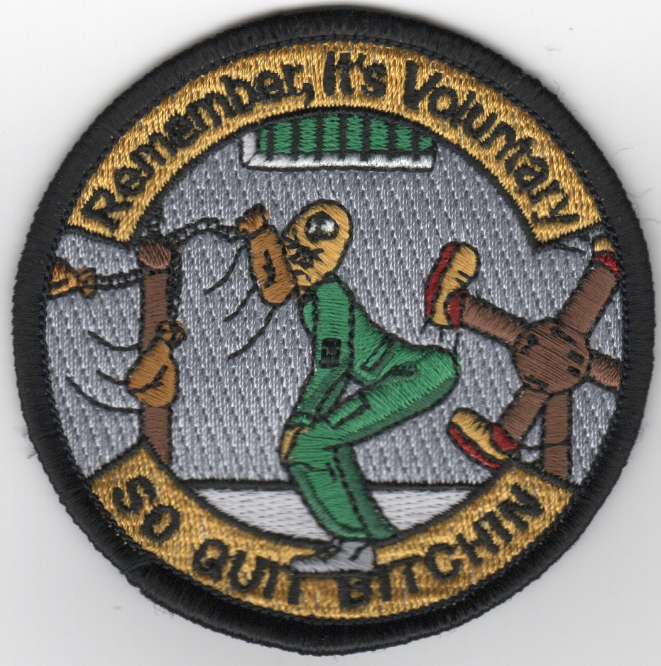HM-14 'Its Voluntary' Patch