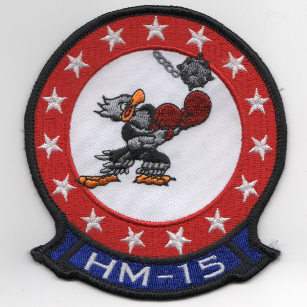 HM-15 'Fighting Hawks' Sqdn (Blue Tab)