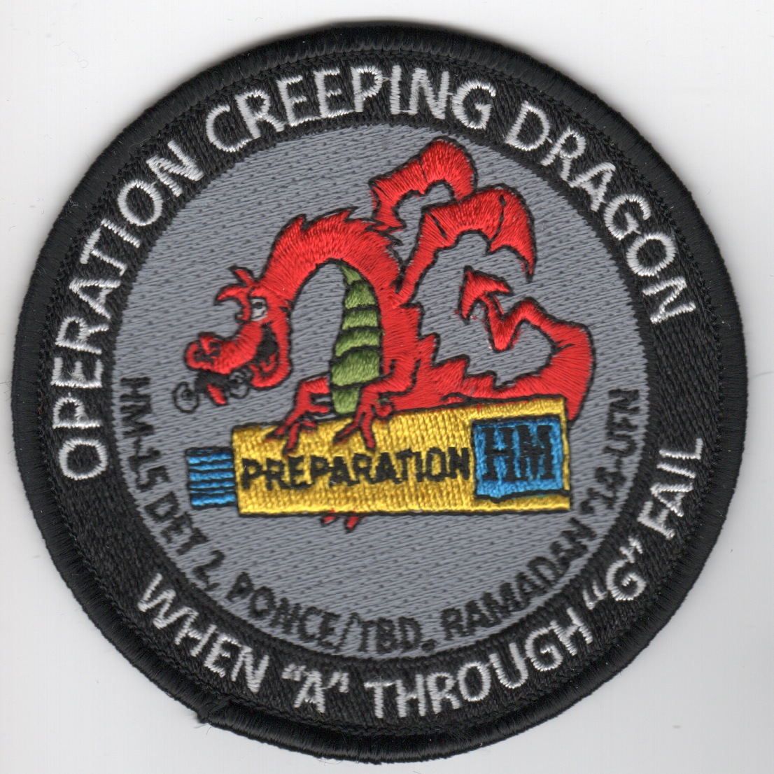 HM-15 Det-2 'Creeping Dragon' Patch