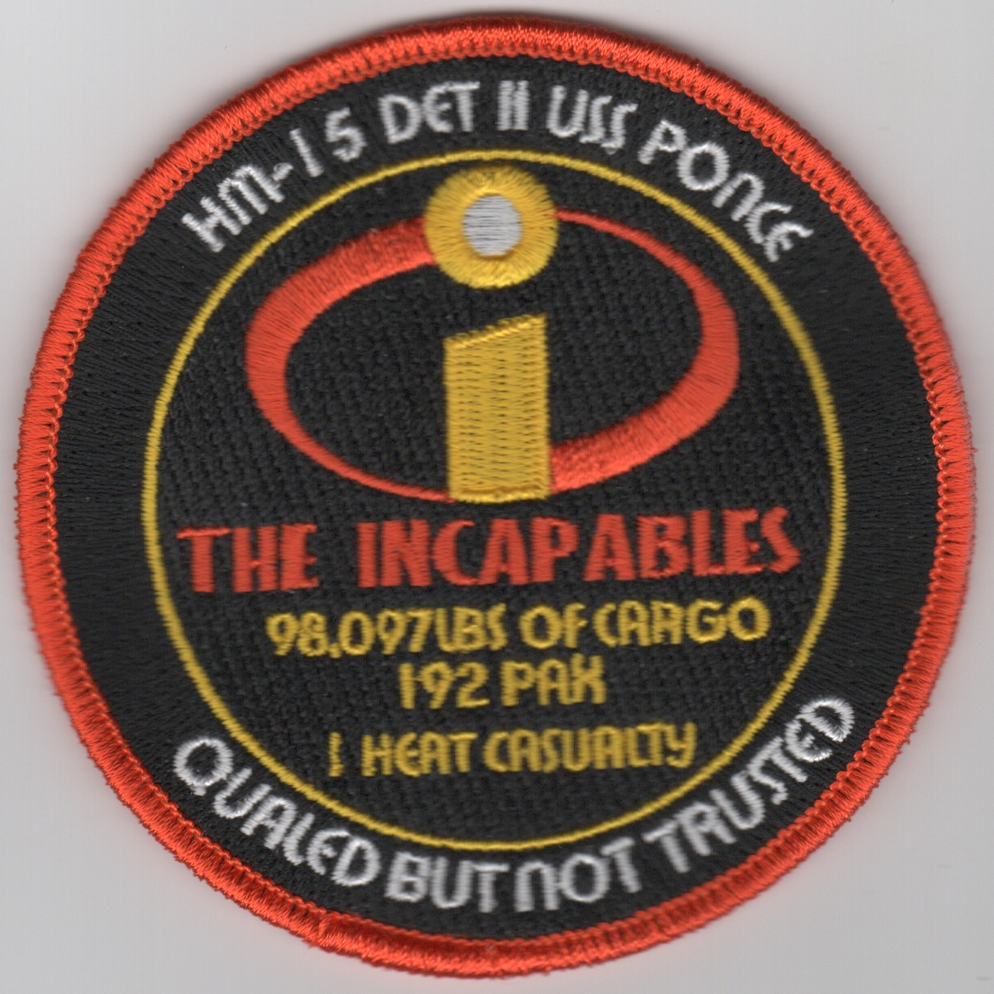 HM-15 'INCAPABLES' Patch