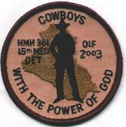 HMH-361 15 MEU Patch (Des)