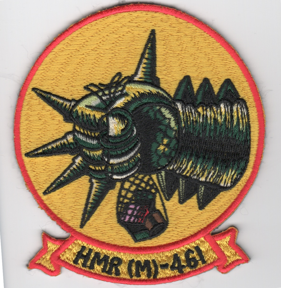 HMH-461 'Fist' (Yellow/Historical)