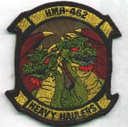 HMH-462 Squadron Patch (Subdued)