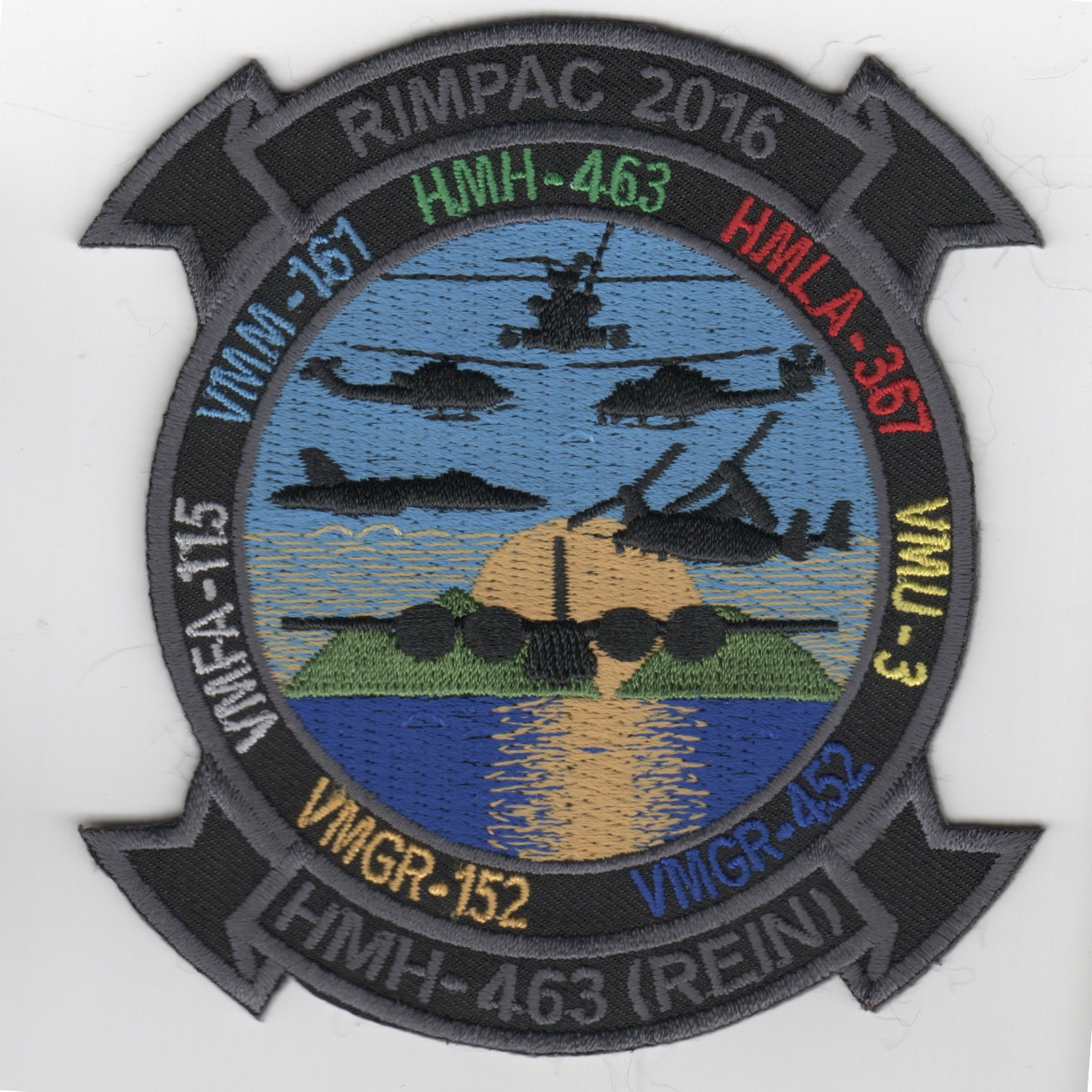 HMH-463 '2016 RIMPAC' Patch