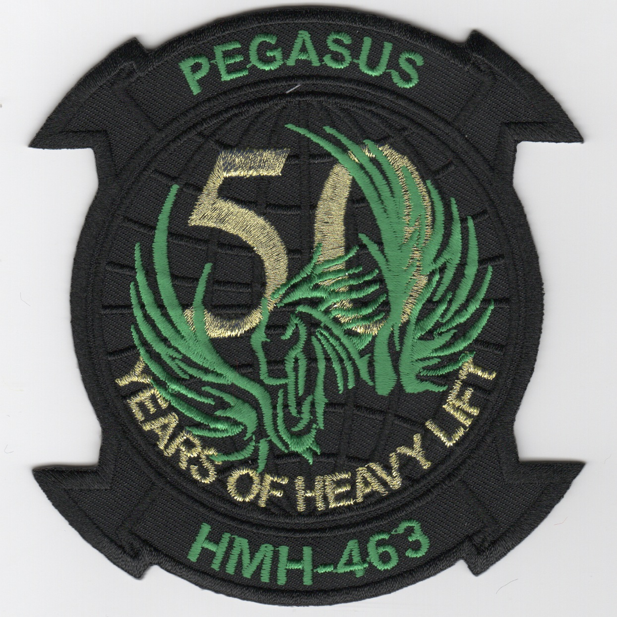 HMH-463 '50th Anniv' Patch (Black)