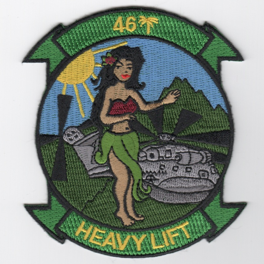 HMH-463 'ALOHA GIRL' Patch
