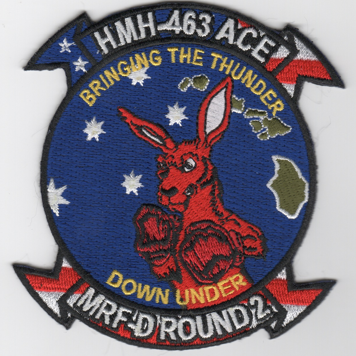 HMH-463 'Thunder Down Under' Patch