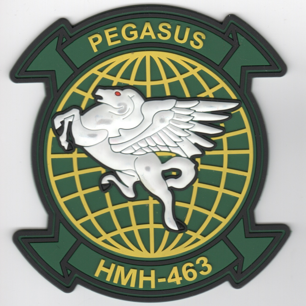 HMH-463 Squadron Patch (Green/PVC)