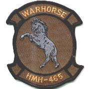 HMH-465 Squadron Patch (Subdued)