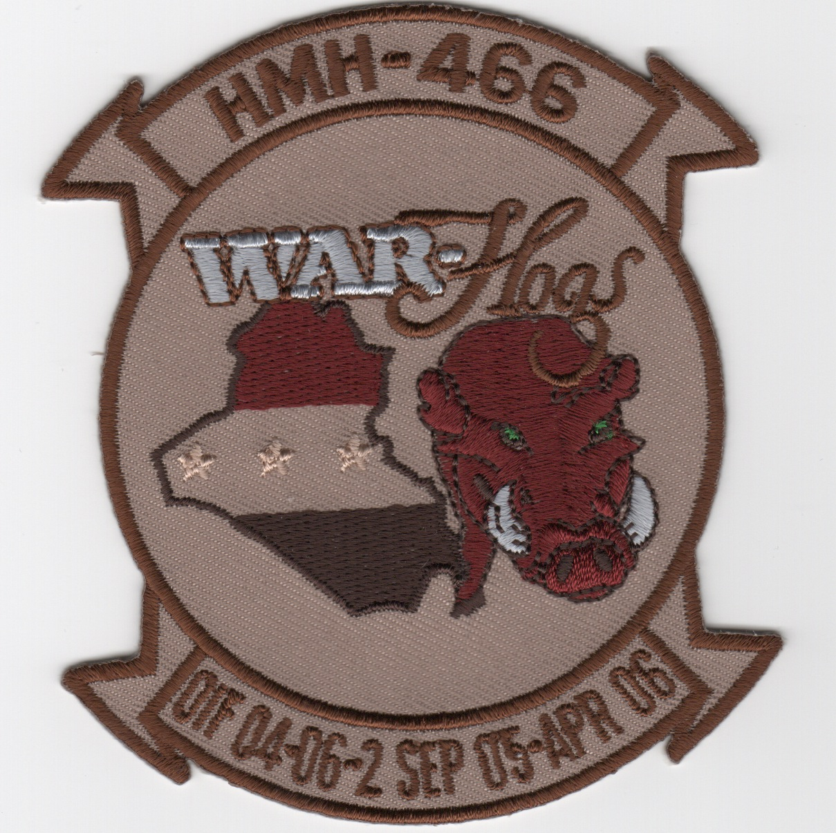 HMH-466 'War Hogs' OIF 04-06 (Des)