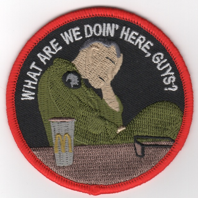 HMLA-367 'What Are We Doing Here' Patch