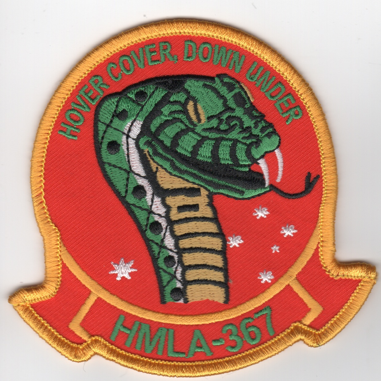 HMLA-367 'Hover Cover, Down Under' (Red)