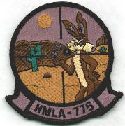 HMLA-775 Squadron Patch (Subdued)