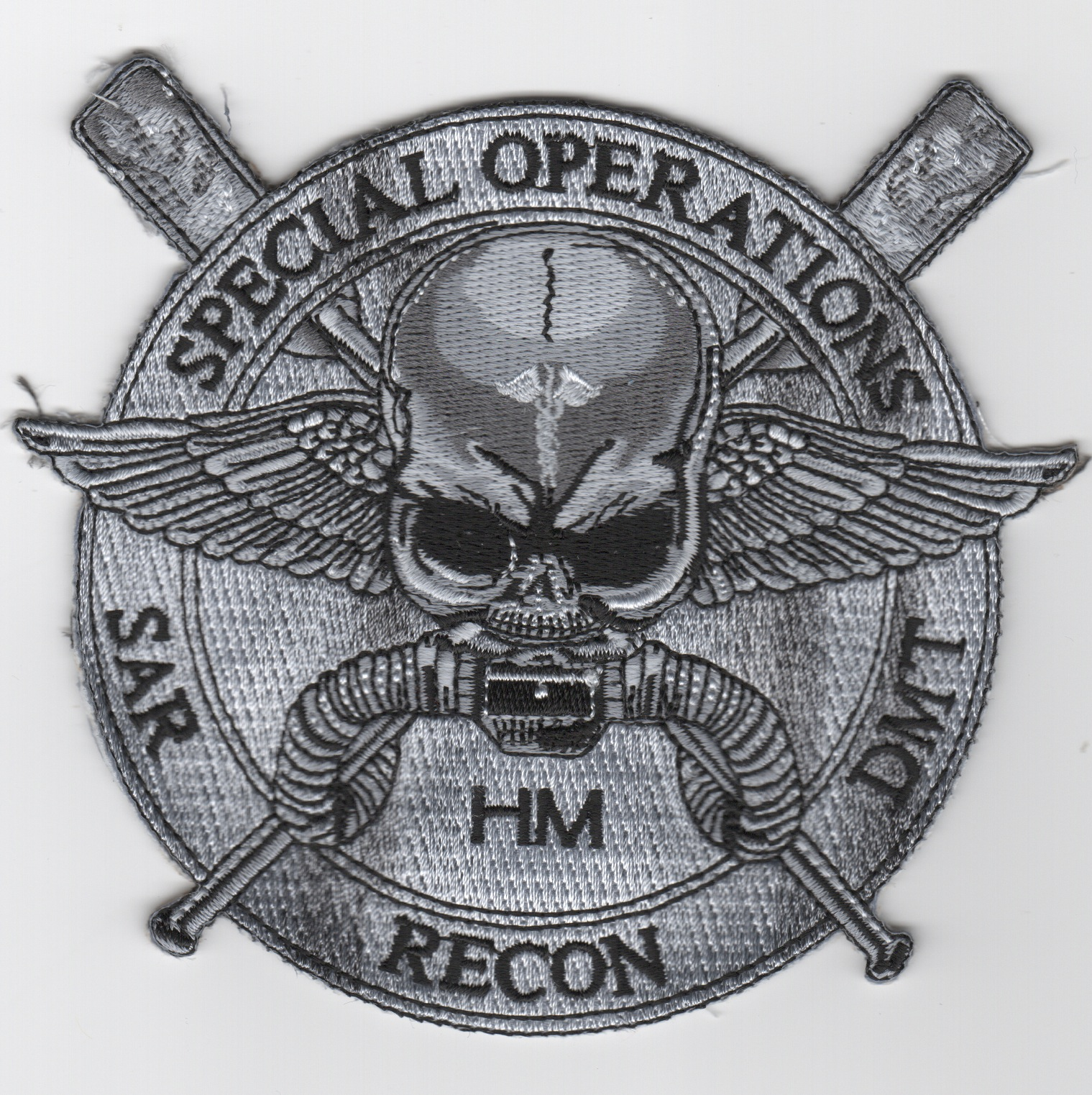 HM 'Special Ops' Patch (Gray)