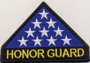 Honor Guard Flag Patch
