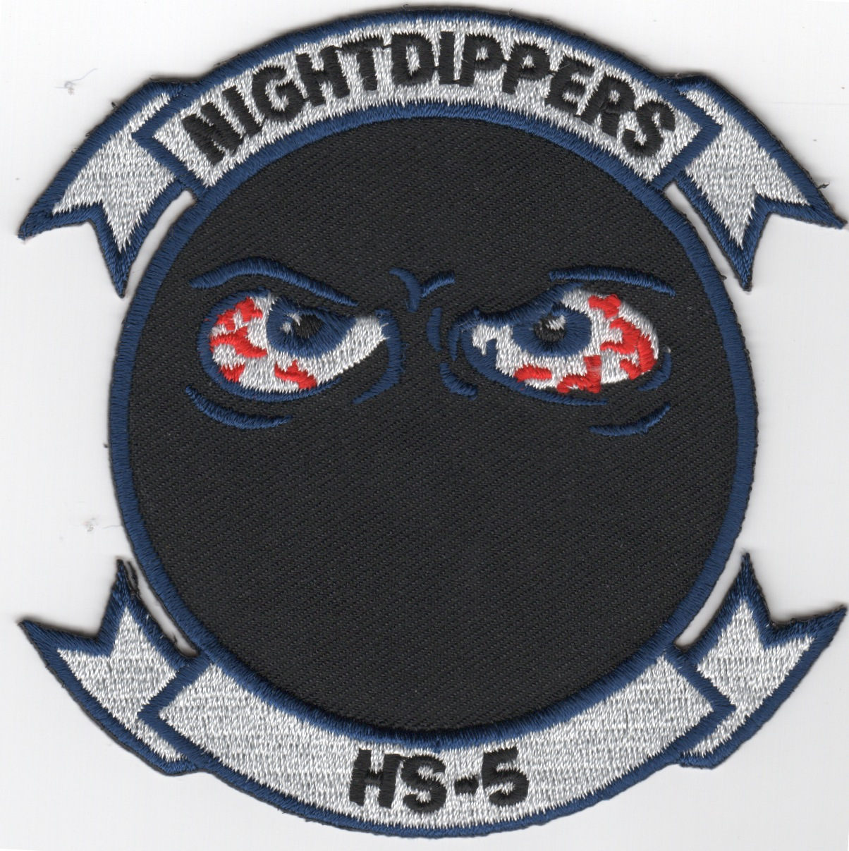 HS-5 'NIGHTDIPPERS' Sq (Dk-Blue Bordered Eyes)