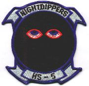 HS-5 'NIGHTDIPPERS' Sq (Red-Bordered Eyes)