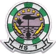 HS-7 Squadron Patch (Small)
