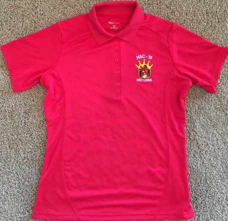 HSC-15 'Polo' Shirt (Red/Women's)