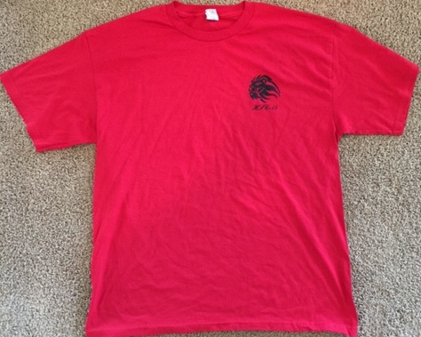 HSC-15 T-shirt (Red/Logo On Front)