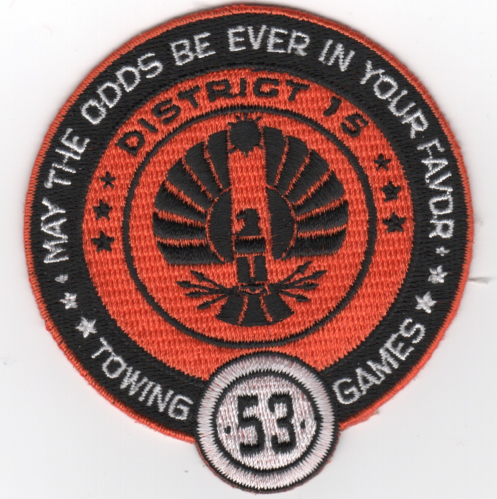 HM-15/DET-2 'ODDS IN YOUR FAVOR (w/53)' Patch