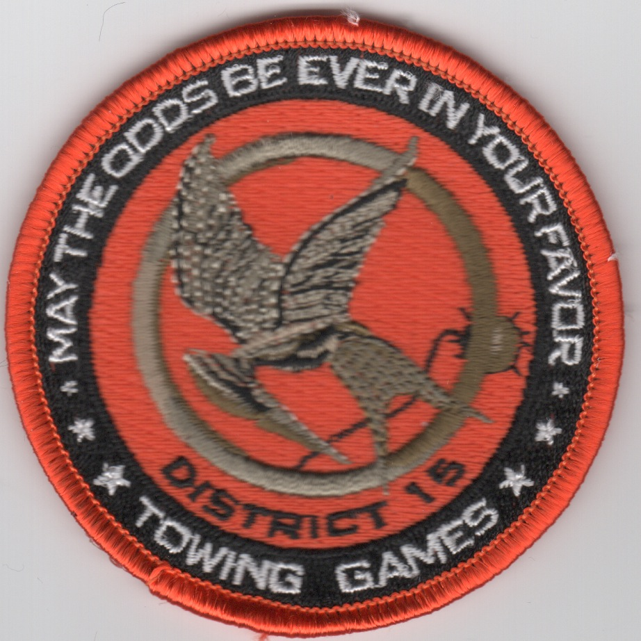 HM-15/DET-2 'ODDS IN YOUR FAVOR (NO 53)' Patch
