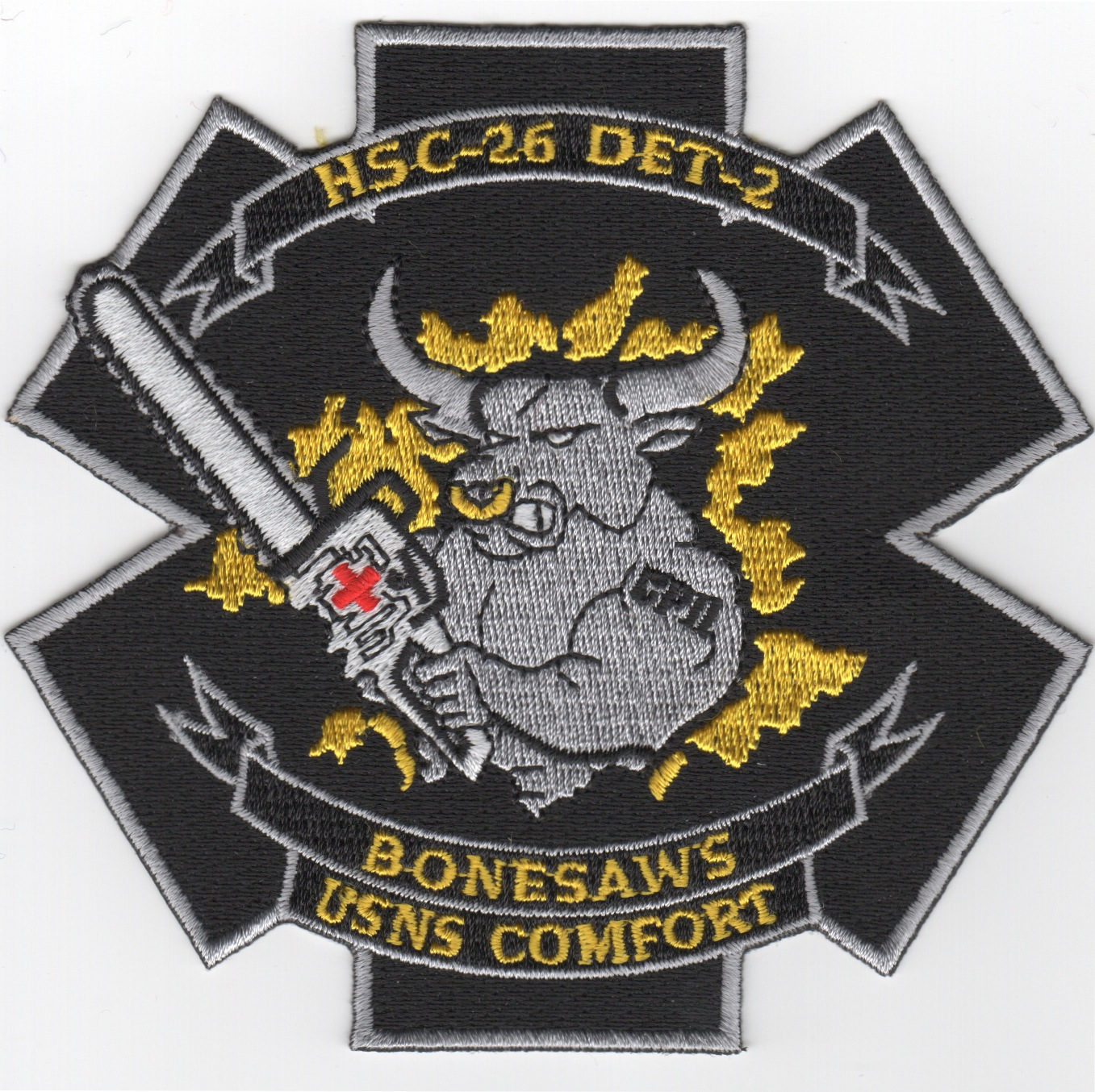 HSC-26 Det-2 'Bonesaws' Patch