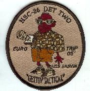 HSC-26 Det-2 'EURO TRIP' Patch