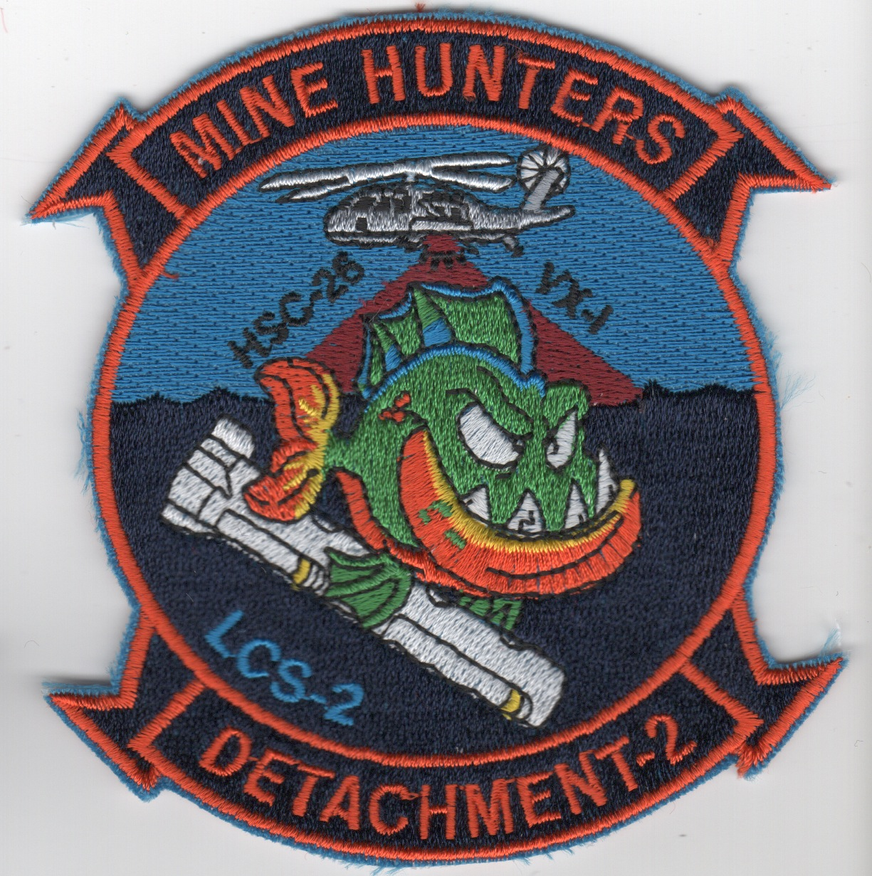 HSC-26 Det-2 'Minehunters' Patch