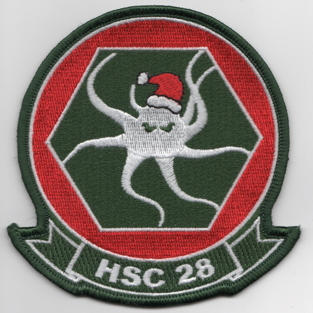 HSC-28 'CHRISTMAS' Octopus (Grn/Red)