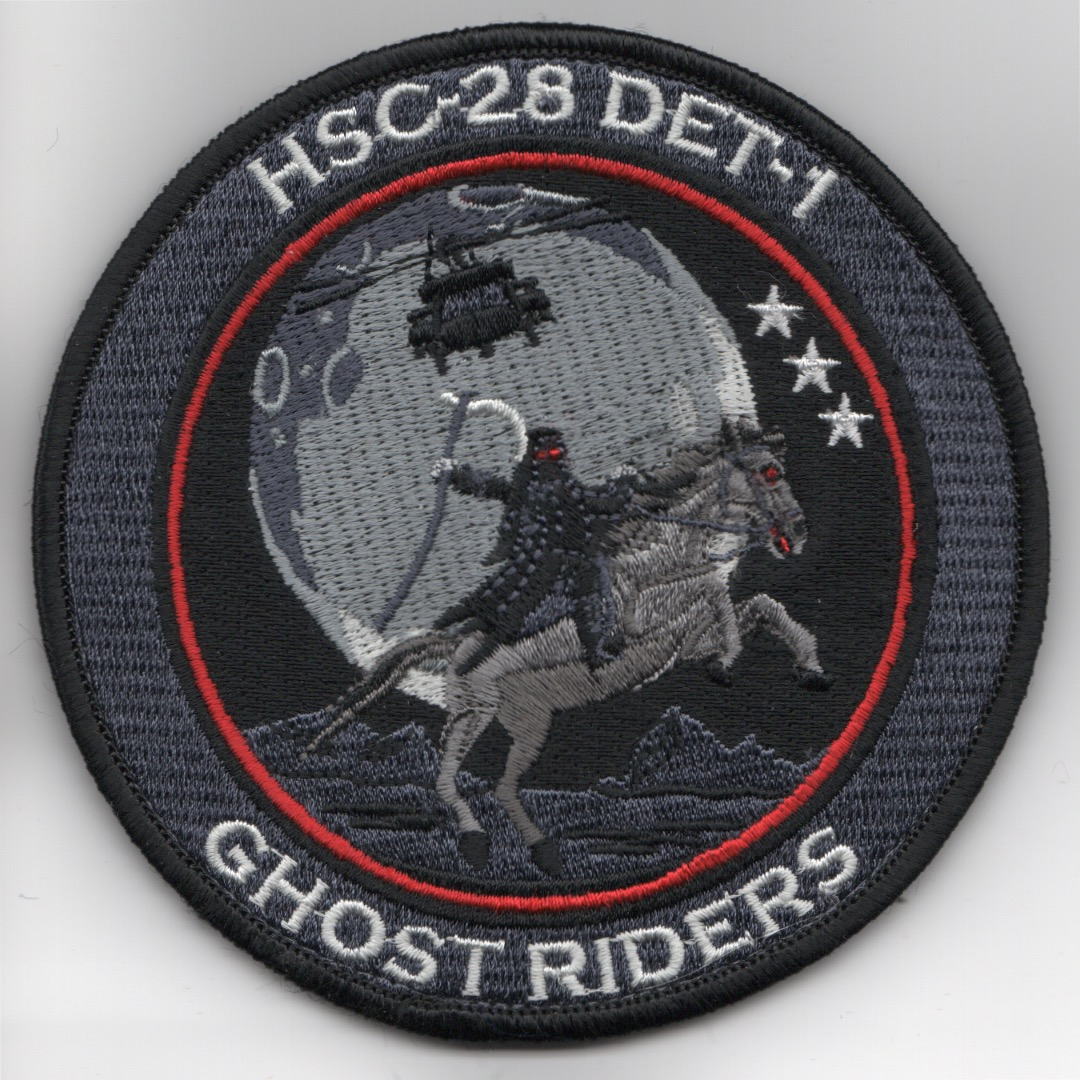 HSC-28 Det-1 'Ghostriders' (Horse & Moon/3-in)