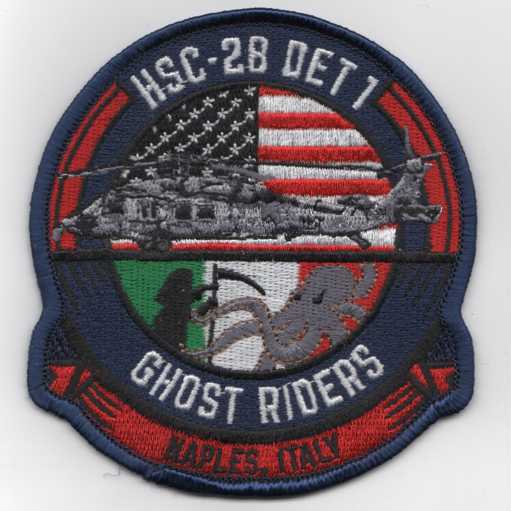 HSC-28 Det-1 'Ghostriders' Patch (NAPLES)