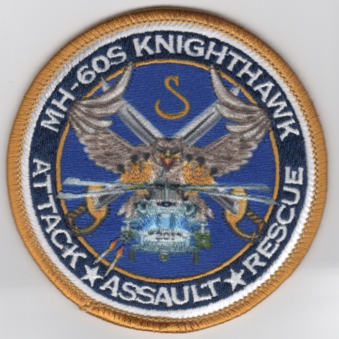 HSC-28 MH-60 'Knighthawk' (Gold Border/Sublimated)