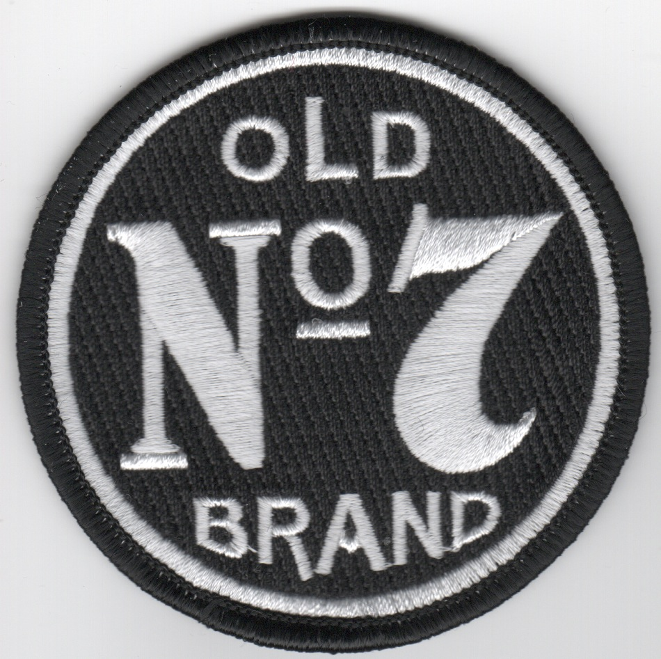 HSC-7 'Old No. 7 Brand' Patch (Blk)