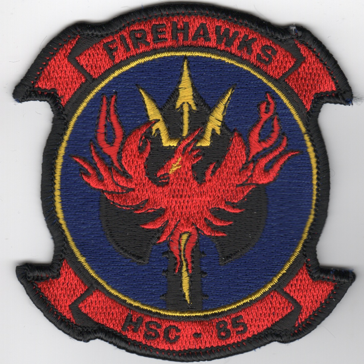 HSC-85 Sqdn Patch (Red/Blue)