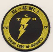HSL-46 'Taking Care of Business' Patch