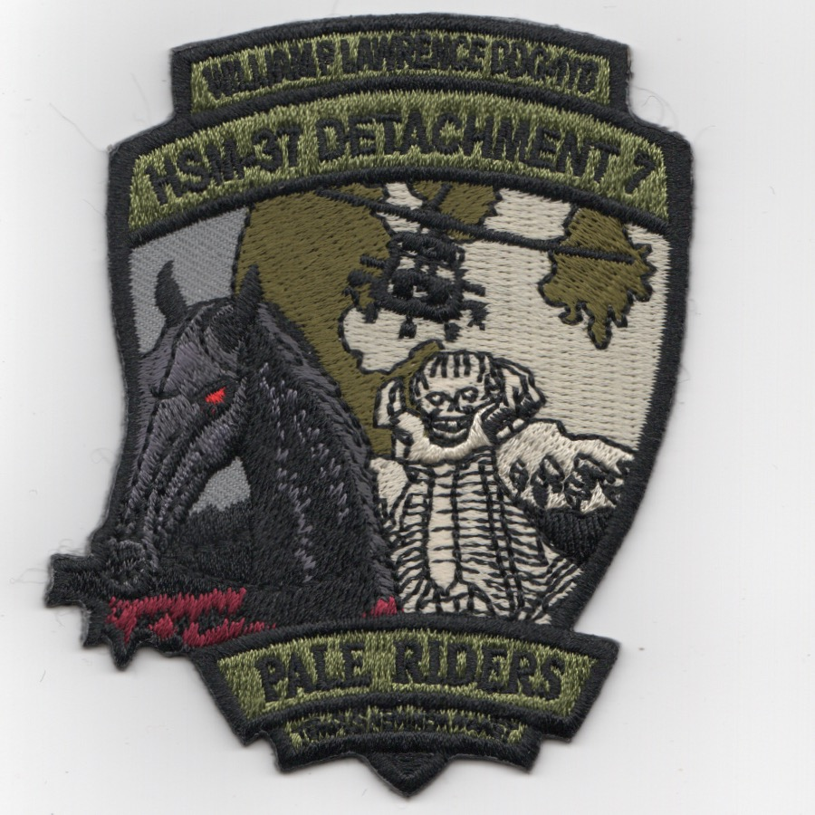 HSM-37 Det-1 'PALE RIDERS' Patch (OCP)