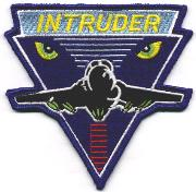 A-6E Intruder Patch (Blue)