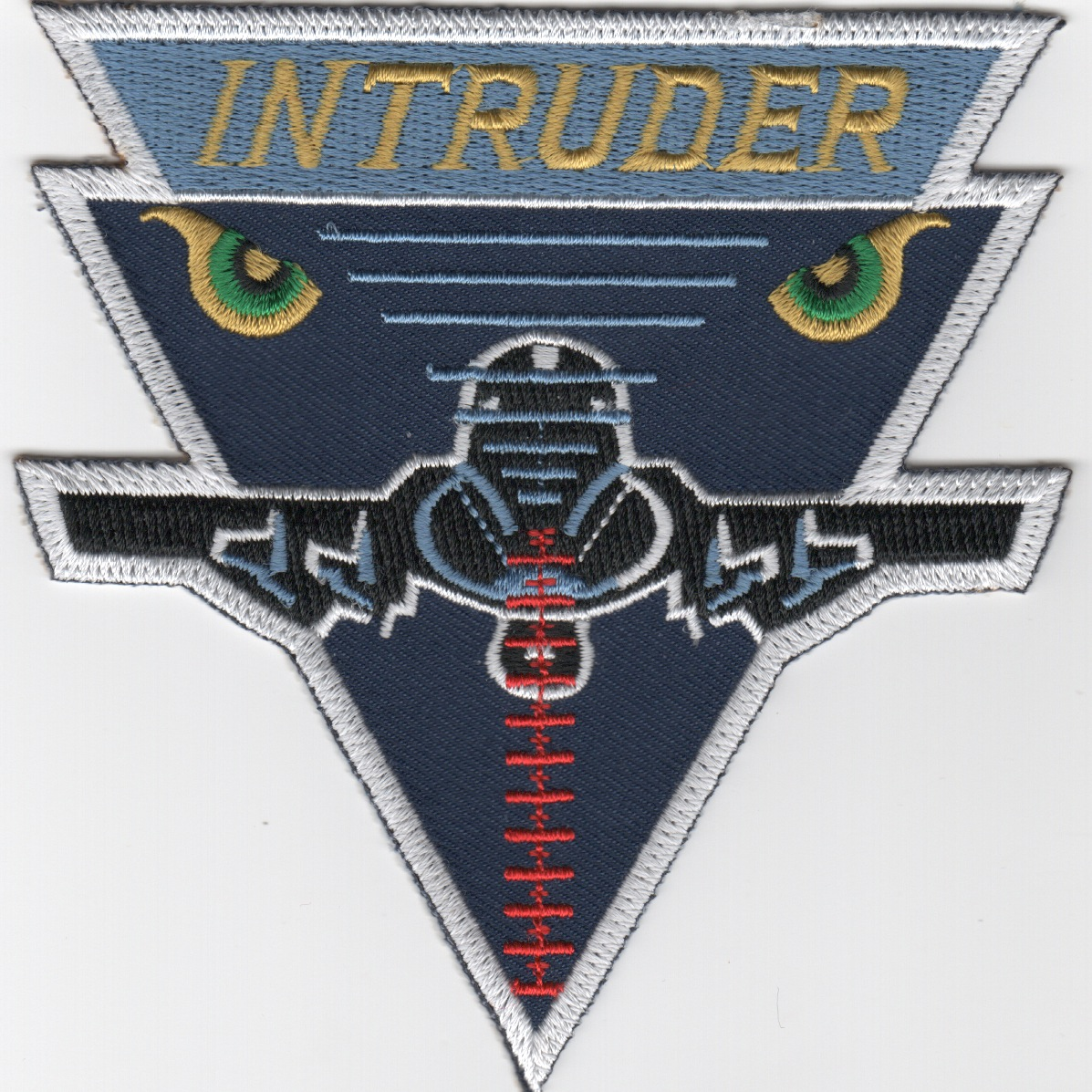 A-6E Intruder Patch (White Border)
