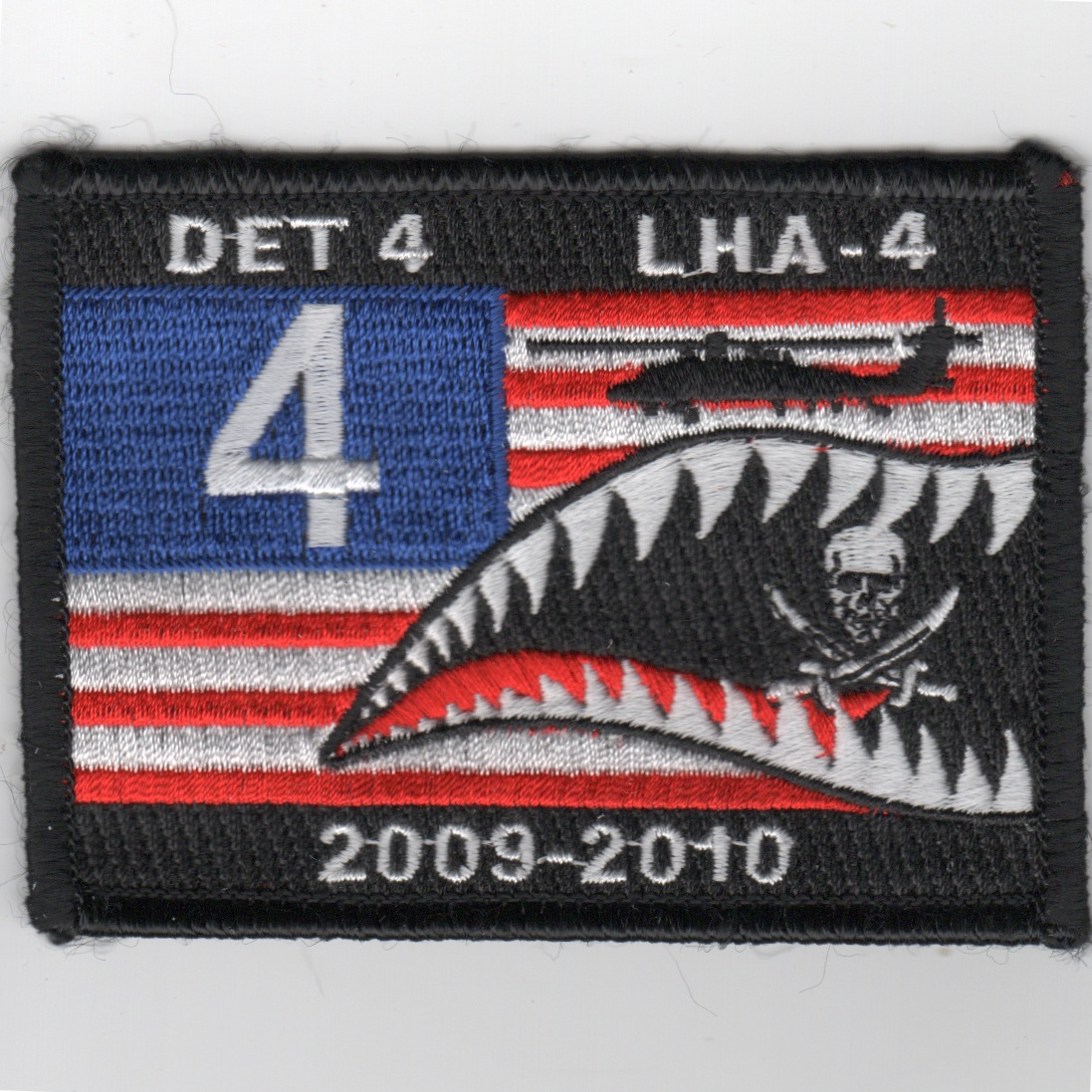 LHA-4 Det-4 2009-2010 Flag Patch